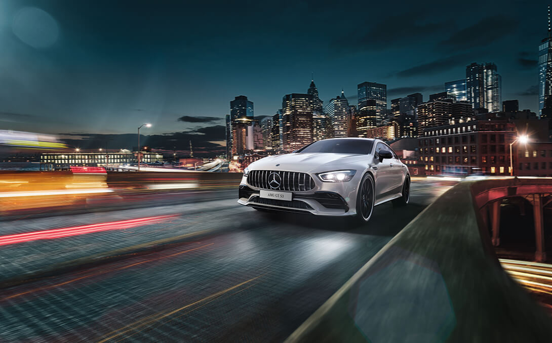 mercedes amg gt 4 door coupe - marquee magazine automotive article - Mercedes Benz