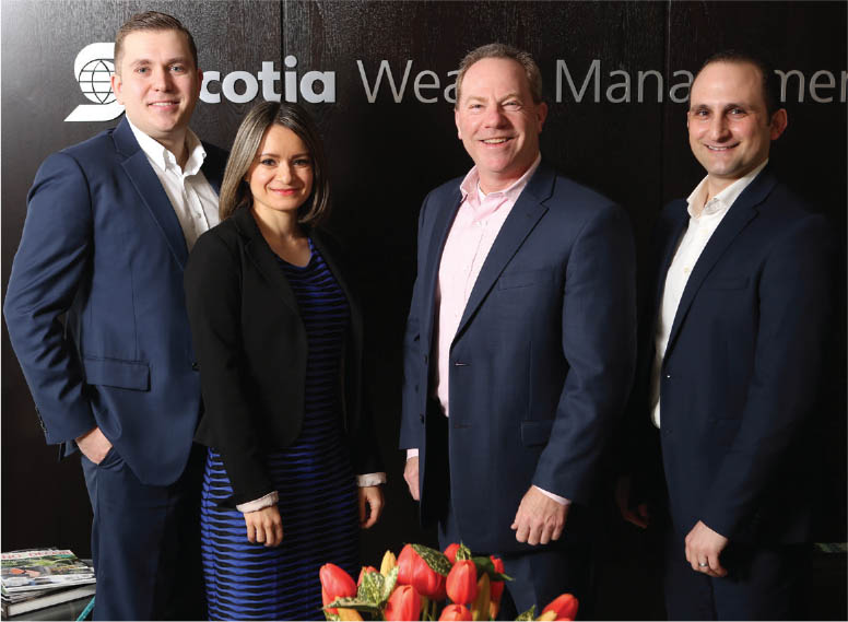 Rod White Financial Group - Scotia Wealth Management team - MarQuee Magazine Special Feature