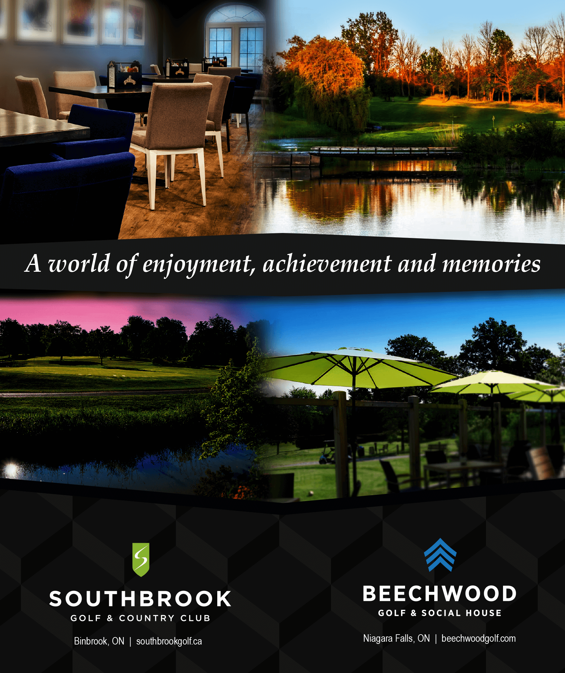 Southbrook and Beechwood Golf and Country Club - Advertising Partner - MarQuee Magazine