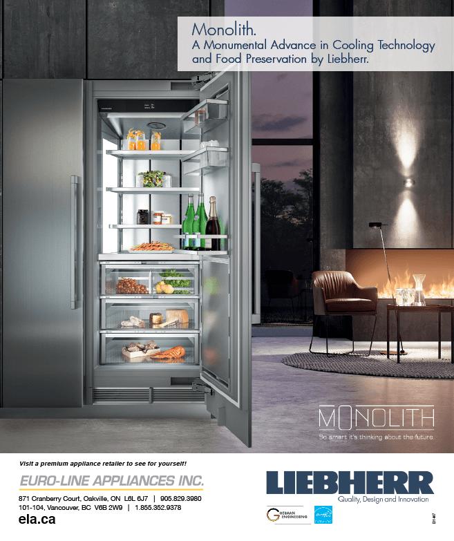 Euro-Line Appliances Inc. MarQuee Magazine Fall 2019