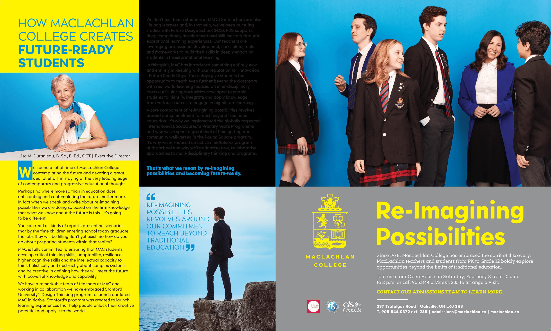 Mclachlan College - Advertising Partner - MarQuee Magazine
