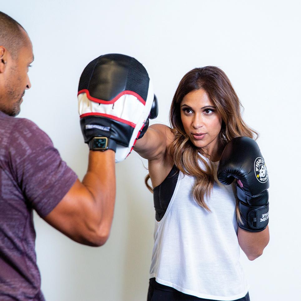 Brent Bishop and Sangita Patel for MarQuee Magazine