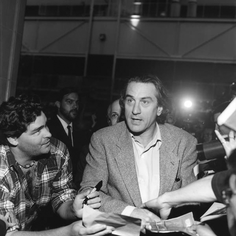 George Pimentel - Robert De Niro in 1993 at TIFF