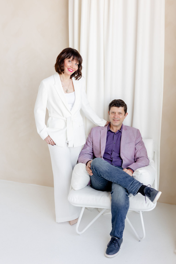 Alina Tacmelova and Husband Yury Goncharov - Photography by August Media