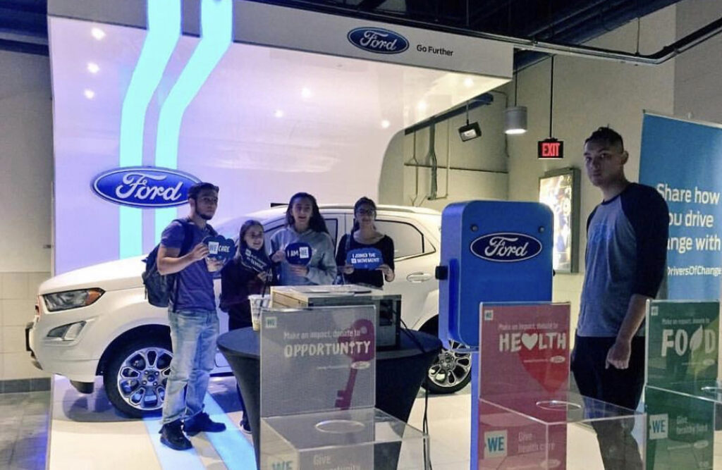 Ford Brand Set-up done by Event Planning company, Event Circle