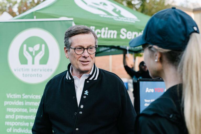 Mayor John Tory & Race Director