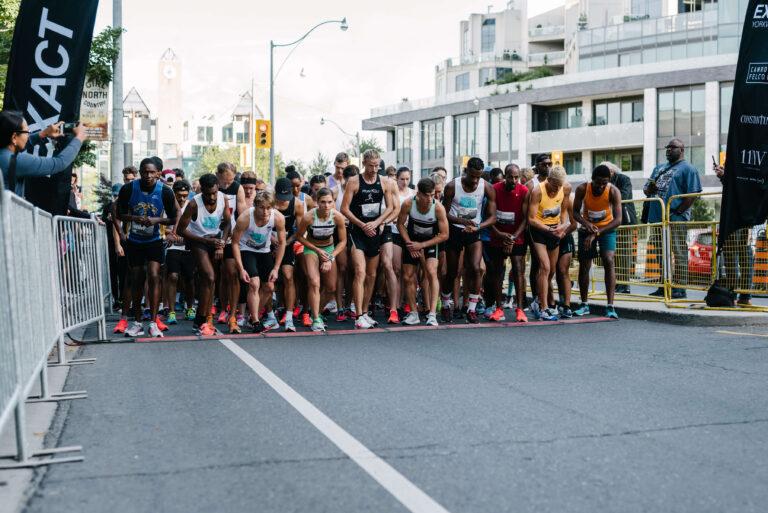 2021 Constantine Yorkville Run Startline