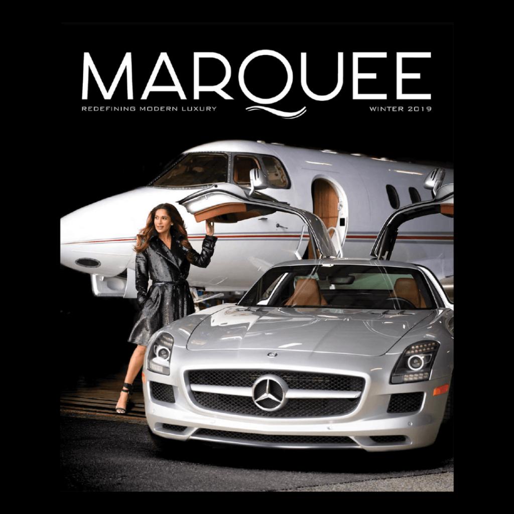 MarQuee Magazine past cover - Sangita Patel