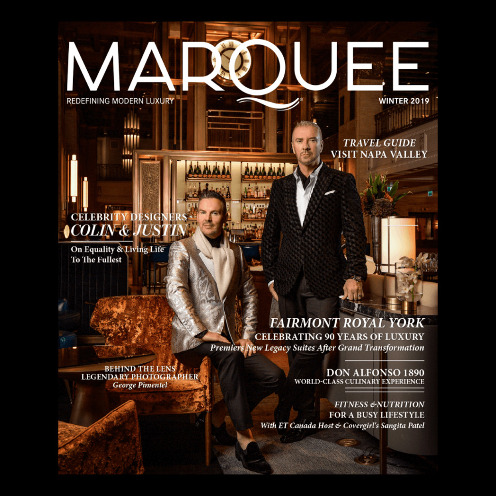 MarQuee Magazine past cover -